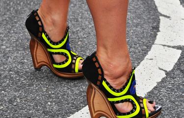 Looks de calle en la semana de la moda de New York