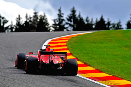 Vettel Belgica F1 2020