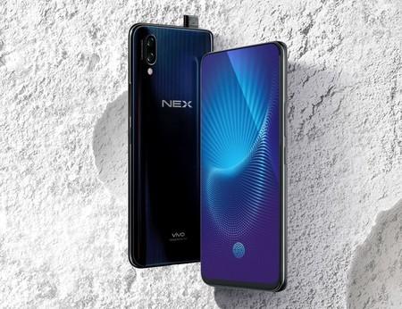 Vivo NEX: verdadera pantalla -casi- sin bordes, cámara frontal que se esconde y sensor de huellas bajo pantalla