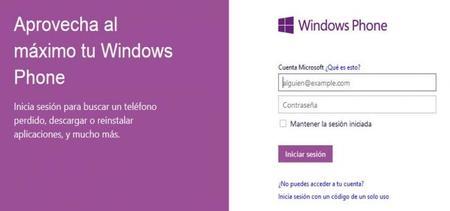 Windows Phone Mi Familia