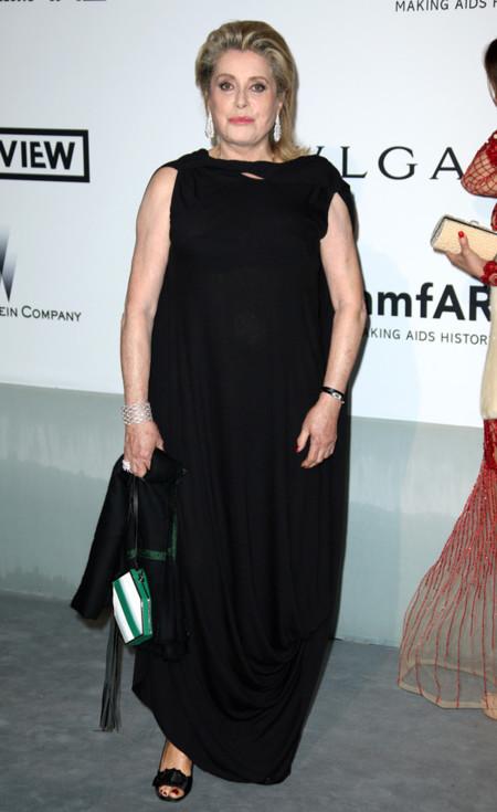 Catherine Deneuve amfar Cannes 2014