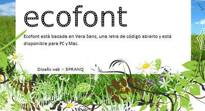 Ahorra tinta en la impresora usando Ecofont y otros trucos