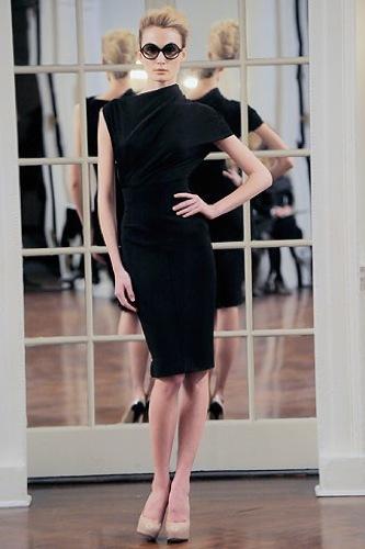 Victoria Beckham, Otoño-Invierno 2010/2011 en la Semana de la Moda de Nueva York VIII