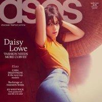 Daisy Lowe imagen de Asos Magazine