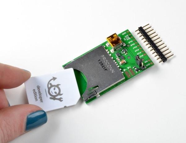 Conectando el Electric Imp a un lector de tarjetas