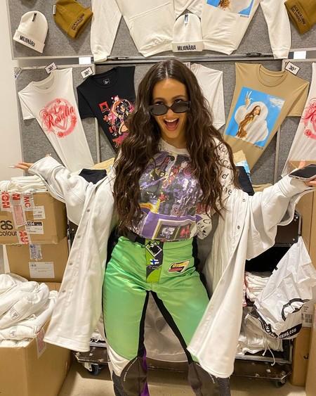 Rosalía ha desatado la locura en su Instagram: al fin la cantante ya tiene su propia colección de merchandising