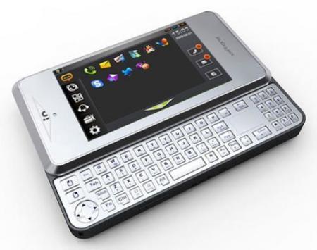 Primeras imágenes del xpPhone, un móvil con Windows XP