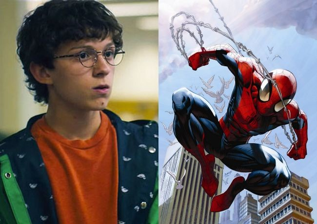 Tom Holland y Spider-Man