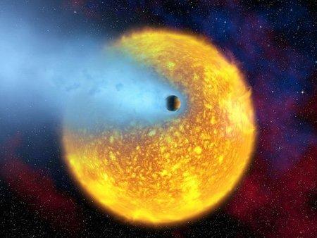 """Confirmado por la NASA planeta """"súper caliente"""" y con cola de cometa"""