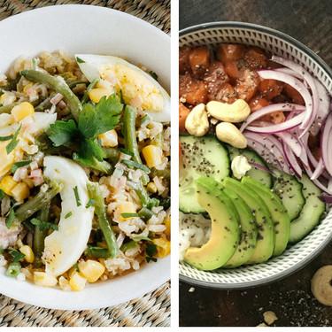 15 ensaladas de arroz muy fáciles de hacer, ideales para el verano, con las que acertar siempre