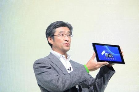 Una realidad Tablet Sony Xperia Z2 con pantalla increible