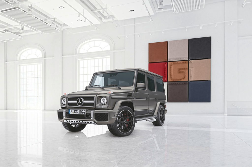 Foto de Mercedes-Benz lanza dos ediciones especiales del Clase G (3/6)