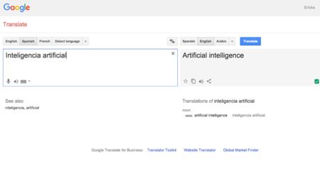 Google Translate mejorará su plataforma apoyándose en la inteligencia artificial