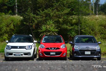 Nissan March Vs Hyundai Grand I10 Vs Suzuki Ignis 2