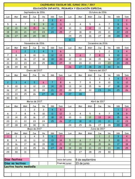 Calendario Escolar 18 19 Cantabria.Nuevo Calendario Escolar Cantabria