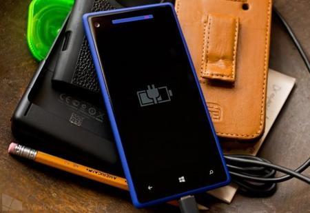HTC 8X Carga