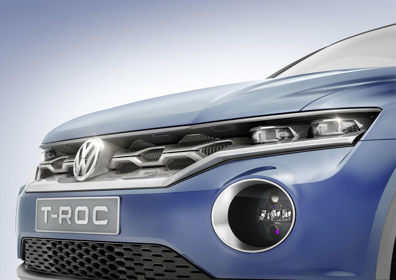 Foto de Volkswagen T-ROC Concept (13/22)