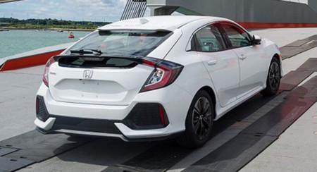 Honda Civic Hatchback 2017:  Captado antes de su lanzamiento el Civic que jamás veremos en México