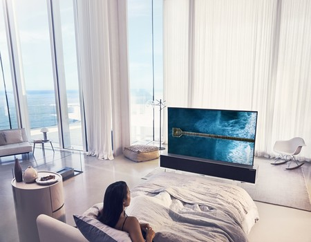 Televisiones diferentes para casas de diseño (si no quieres un Black Mirror en tu pared)