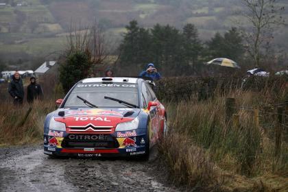 Sébastien Loeb sigue dominando el Rally de Irlanda