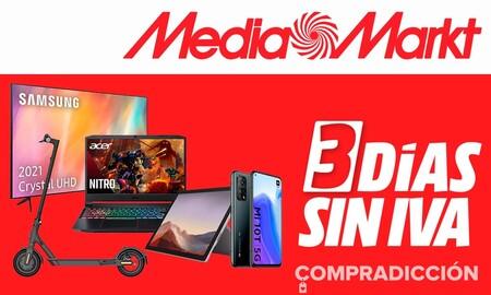 Días sin IVA en MediaMarkt: smart TVs, smartphones, portátiles o patinetes eléctricos a mejor precio