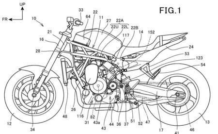 Honda Patente Motor Bicilindrico