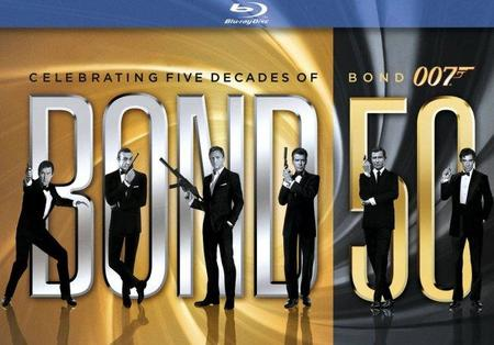 'James Bond - Colección 50 aniversario' en blu-ray, análisis