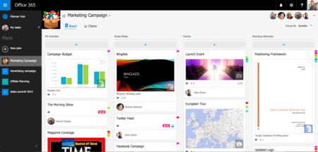 Planner es el nuevo organizador de tareas individuales y en equipo de Microsoft
