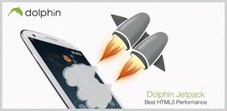 Llega Dolphin Jetpack, el motor que dispara la potencia de Dolphin Browser en Android