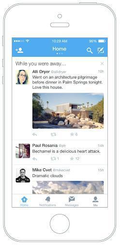 """""""Mientras estabas fuera..."""" así es como Twitter nos dará un resumen de nuestro timeline"""