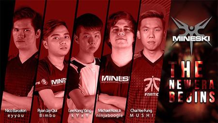 Este es el nuevo roster de Mineski liderado por Mushi