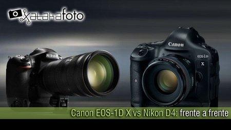 Canon EOS-1D X vs Nikon D4: frente a frente