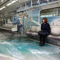 El nuevo diseño del metro de Seúl te permitirá viajar por todo el mundo