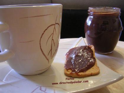 Mermelada de Platano, chocolate y canela. Receta