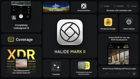 Halide lanza Mark II la nueva app de fotografía que ofrece funciones profesionales en una interfaz diseñada para los gestos