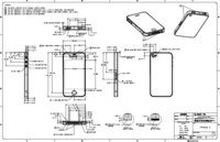 Diagramas CAD de distintos productos de Apple