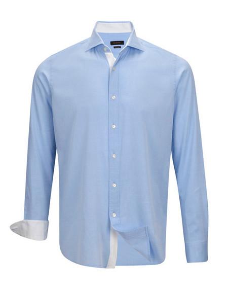 Camisa Azul Emidio Tucci