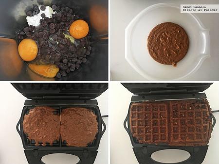 Brownies Waffle 2