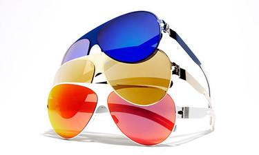 Mykita se atreve con las lentes de colores