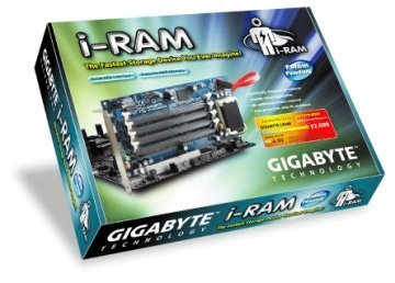 iRAM: sustituye tu disco duro por memoria flash