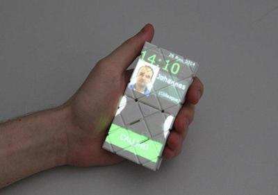 """Paddle ofrece otro concepto a la movilidad: el de los teléfonos """"desplegables"""""""