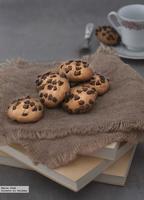 Receta de cookies de plátano y perlitas de chocolate
