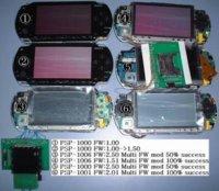 PSP: usar múltiples firmware