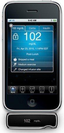 iBGStar, Medidor de glucosa para el iPhone