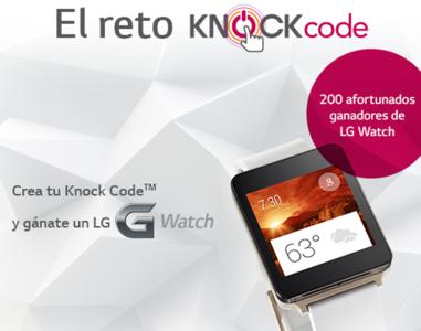 LG G Watch, el reto Knock Code y su fecha de lanzamiento en México