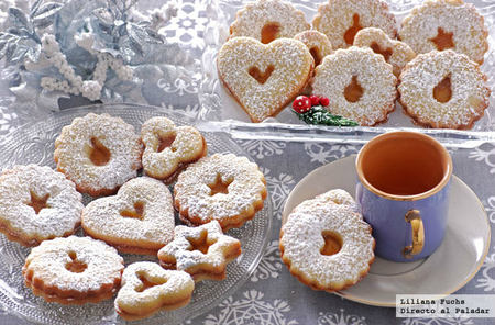 Spitzbuben, galletas suizas de Navidad
