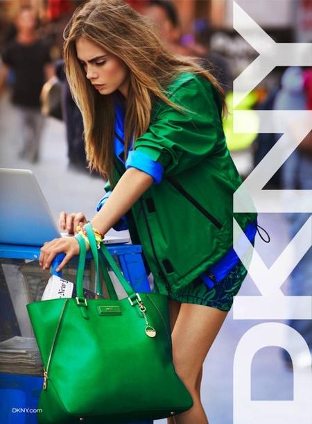 dkny-bolso verde