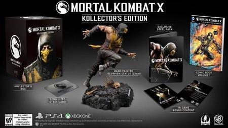 Netherrealm anuncia el increíble contenido de la MKX Kollector's Edition