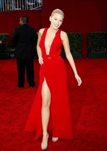 Blake Lively y Leighton Meester, estilo Gossip Girl: sus mejores looks de 2009. Versace