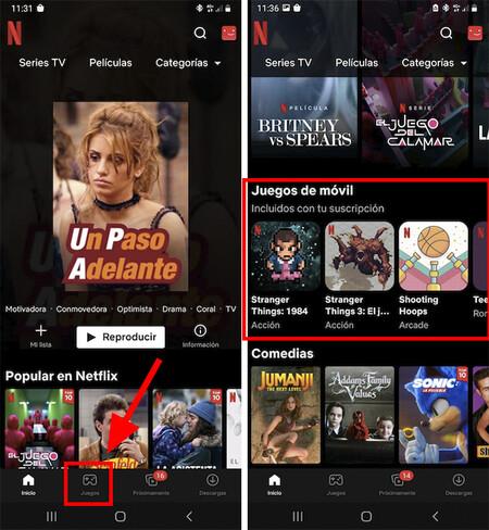 Juegos De Netflix